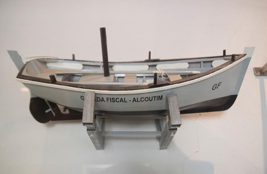 Réplica do barco da Guarda Fiscal