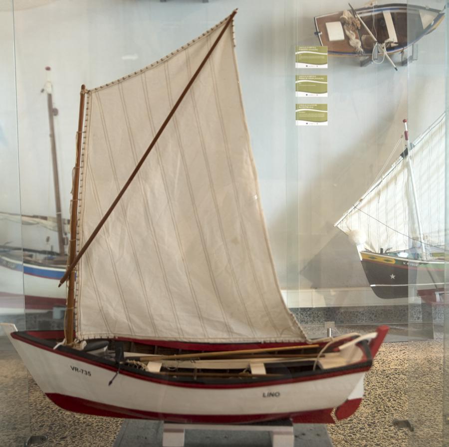 Réplica de uma embarcação do Guadiana