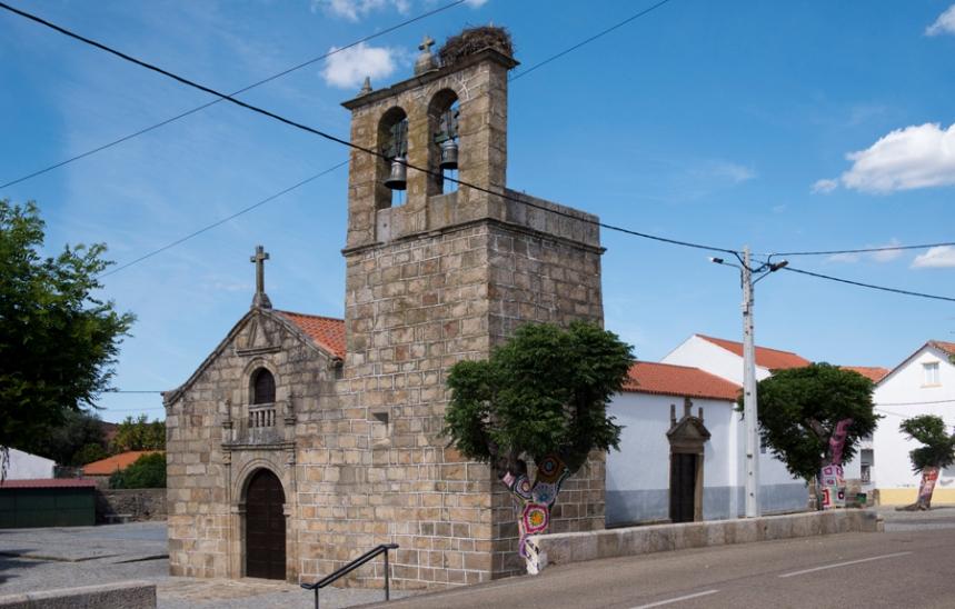 A igreja em Salvaterra do Extremo