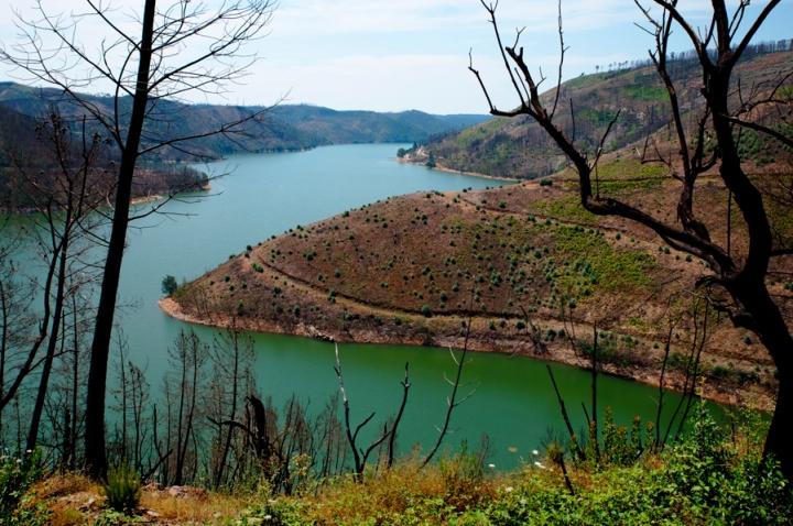 Vista para o Lago Azul