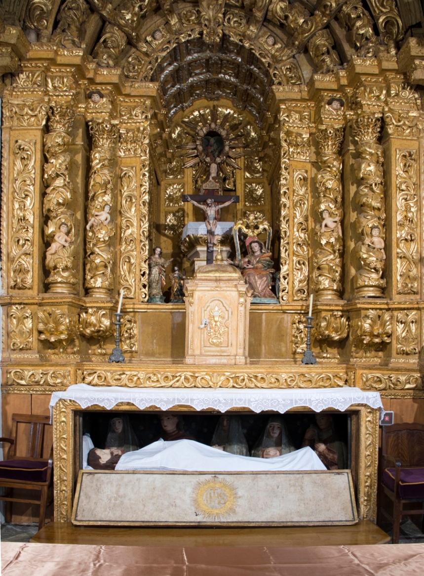 Altar-mor da igreja da Misericórdia
