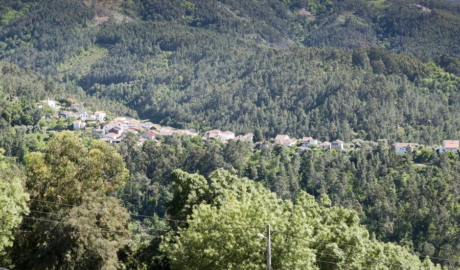 Vista do Santuário do Mont'Alto