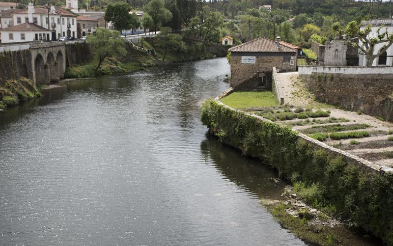 Rio Alva em Coja