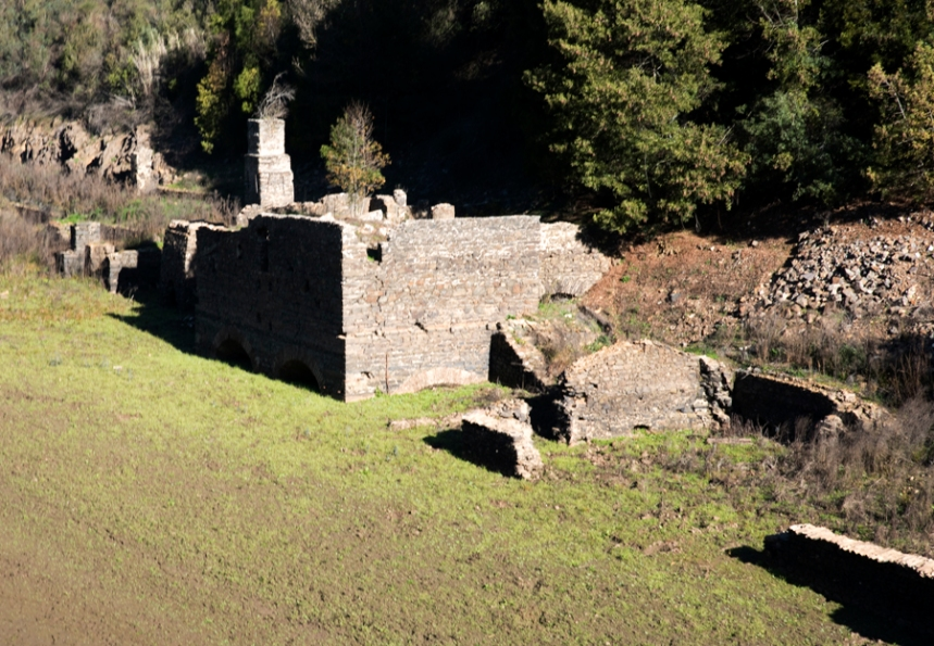 Ruínas da antiga fundição