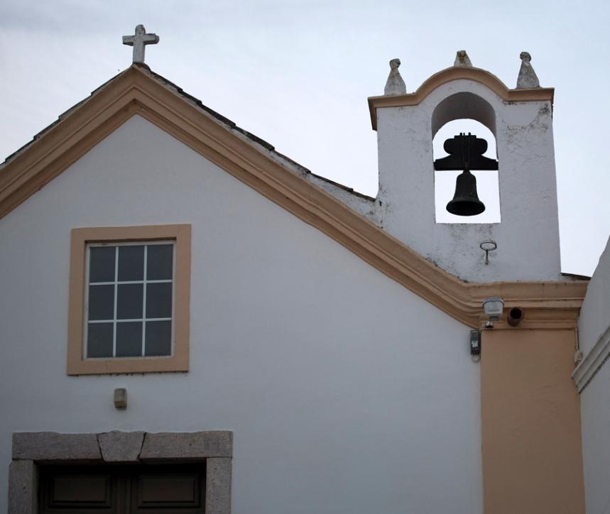 Capela de S. Pedro onde esteve o sino