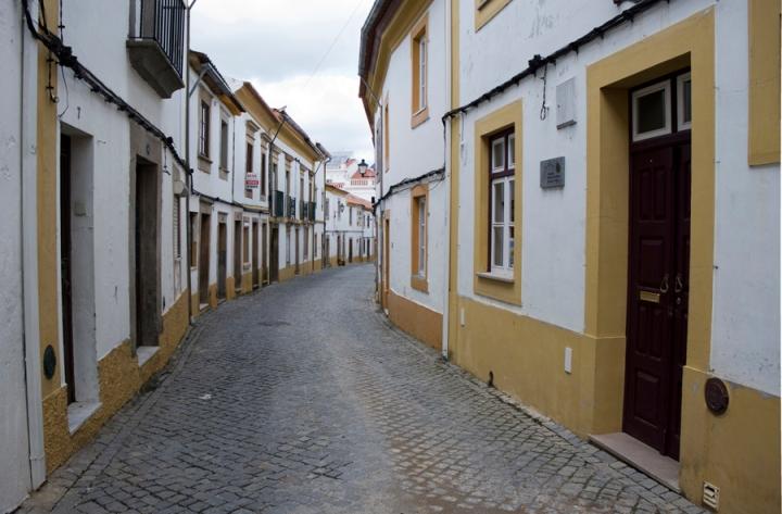 Rua no centro histórico