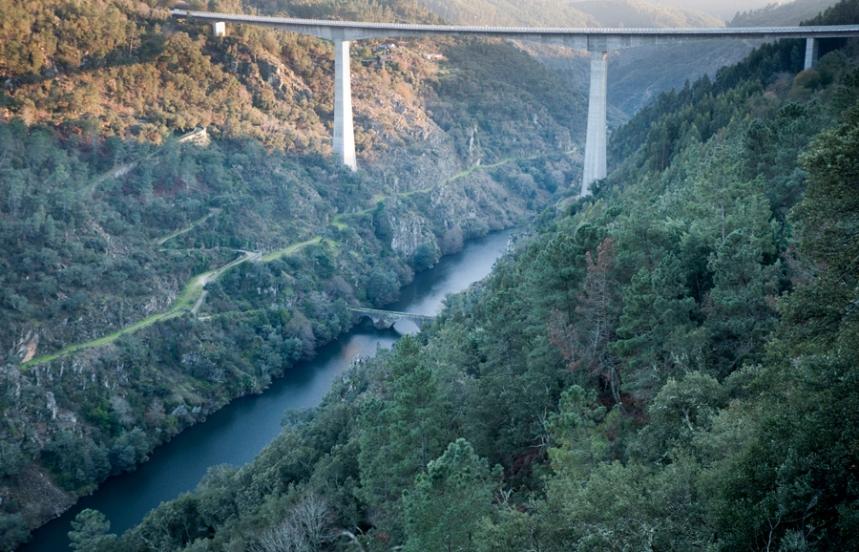 Ponte Filipina e ponte do IC8