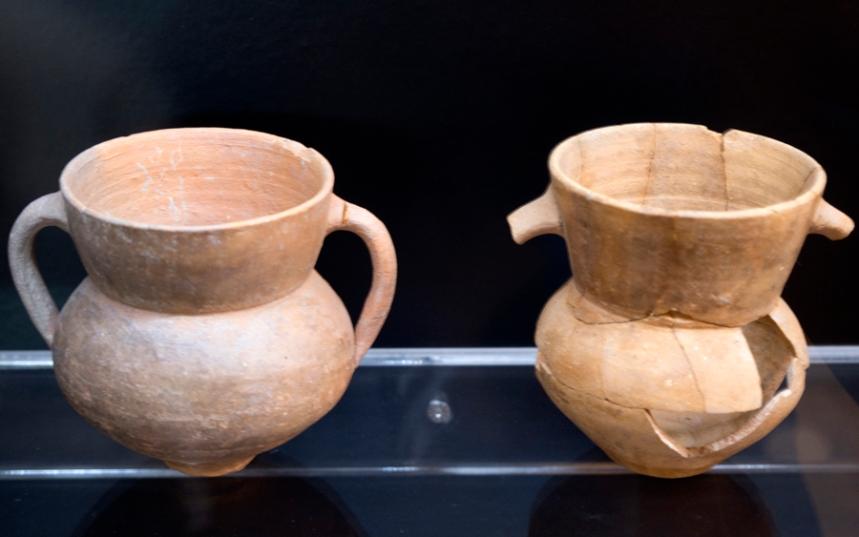 Objectos encontrados na cripta
