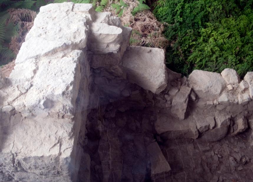Ruínas das antigas muralhas