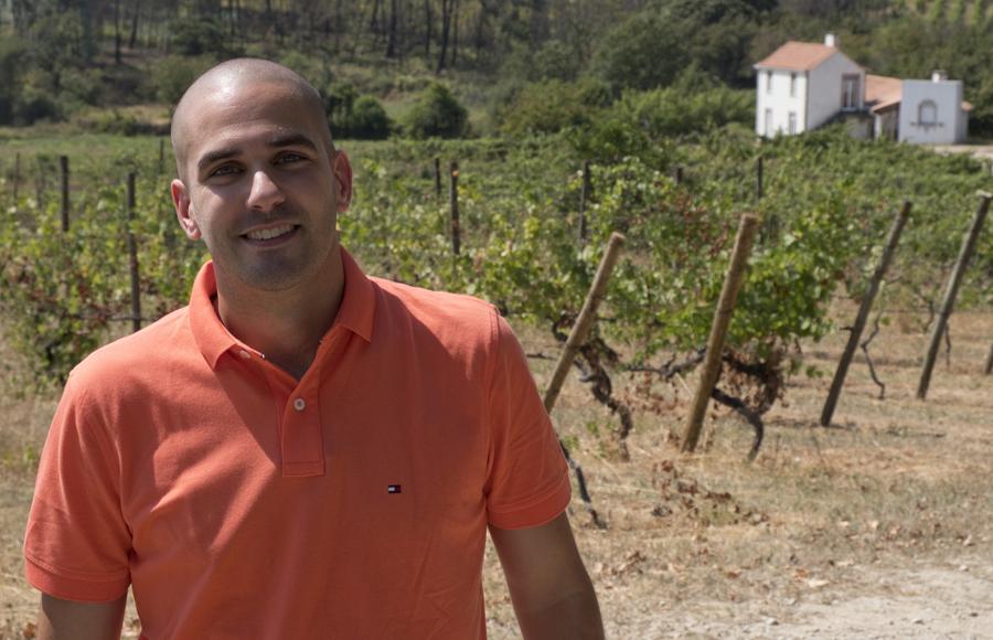 José Lourenço - a geração mais nova da Quinta dos Roques