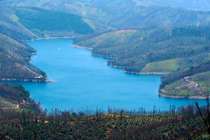 Os meandros do rio Zêzere