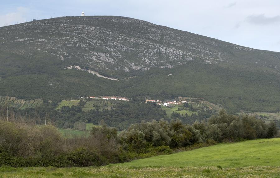 Vista da serra de Montejunto