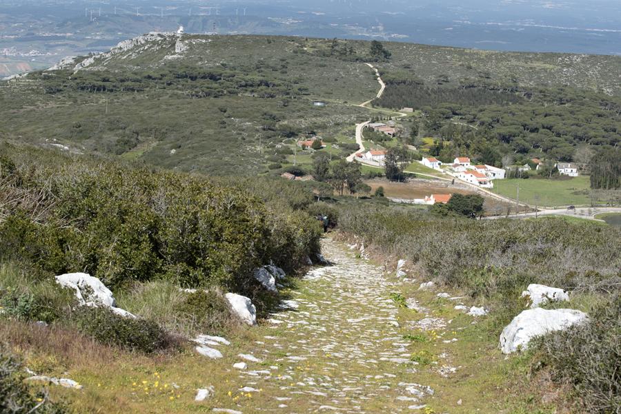 Percurso pedestre junto à Capela de Nossa Senhora das Neves