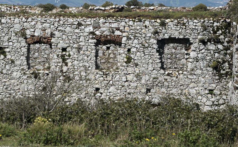 Ruínas do convento próximo Capela de Nossa Senhora das Neves