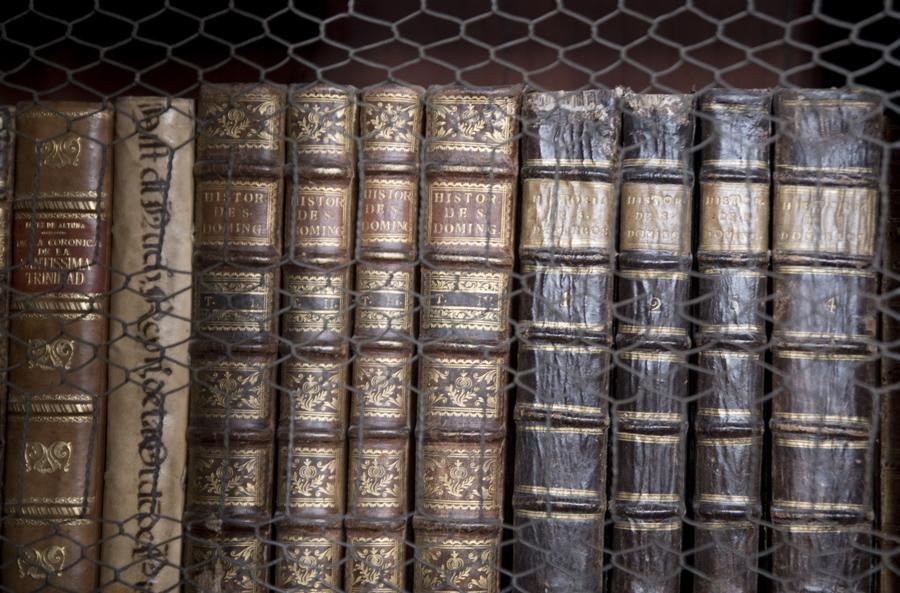 Há livros com cerca de 500 anos