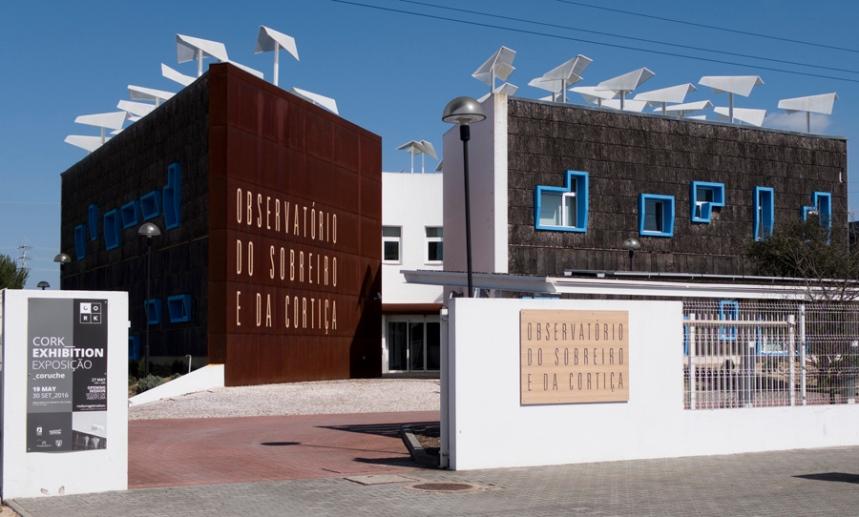 O Observatório é um trabalho do arquitecto Manuel Couceiro