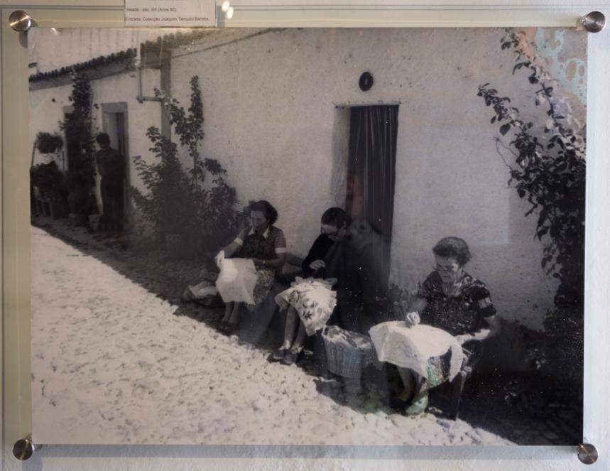 Foto no Núcleo do Bordado
