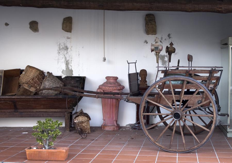 Objectos de uma casa agrícola