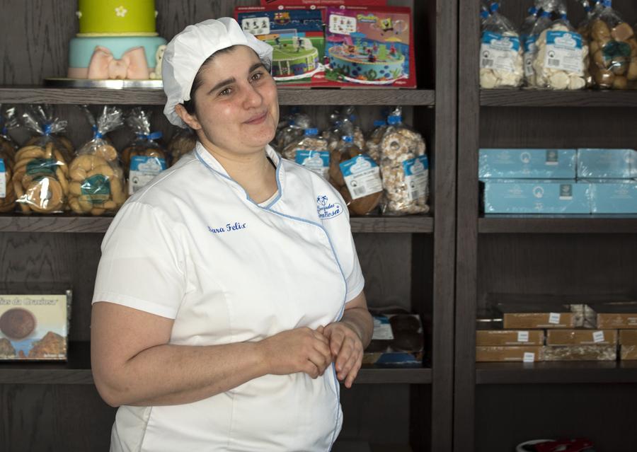 Sara Félix, a actual proprietária