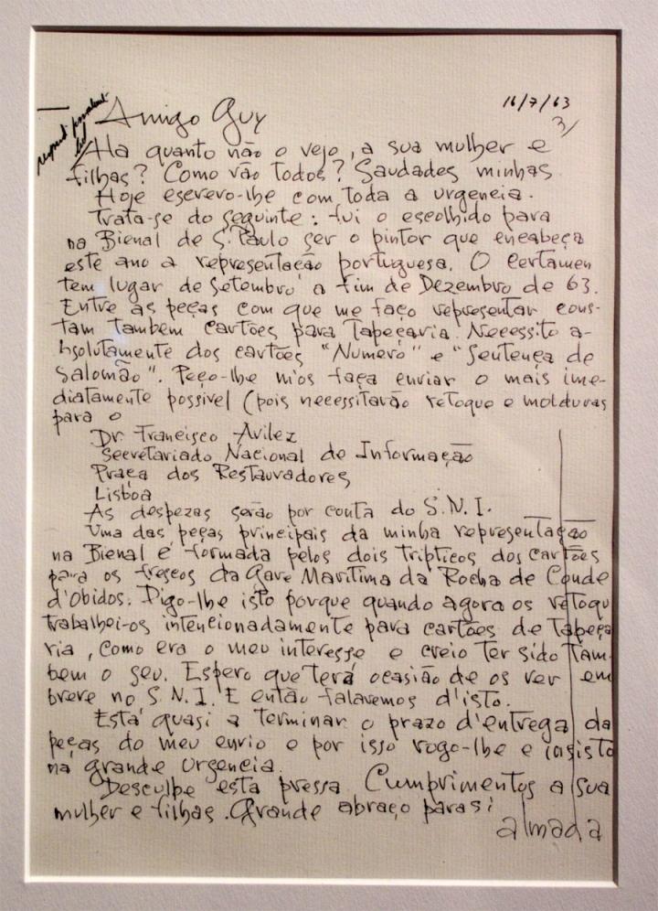 Carta de Almada Negreiros
