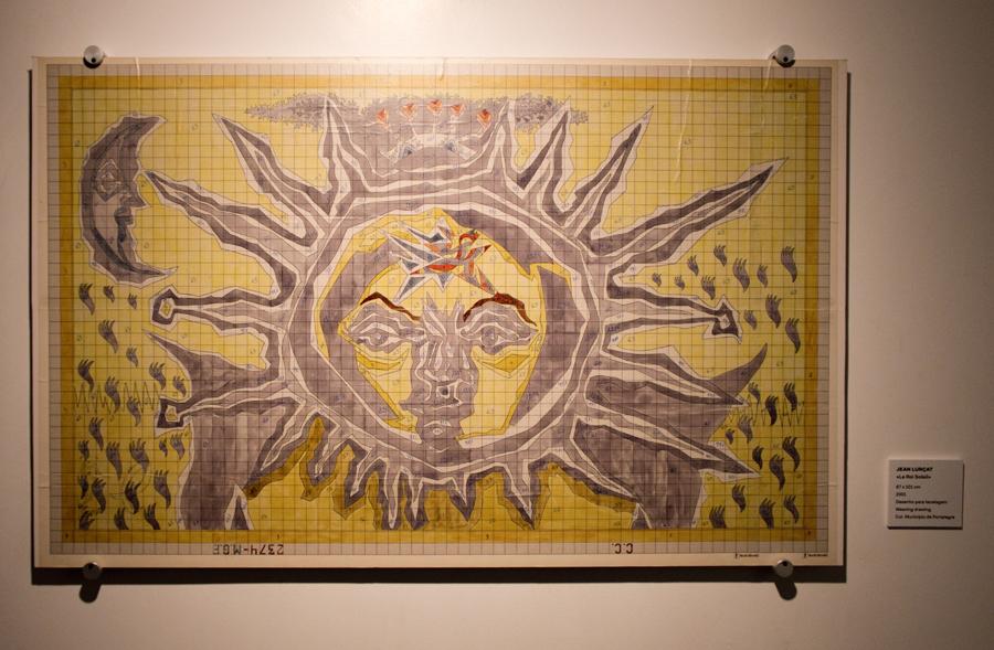 Desenho para tapeçaria
