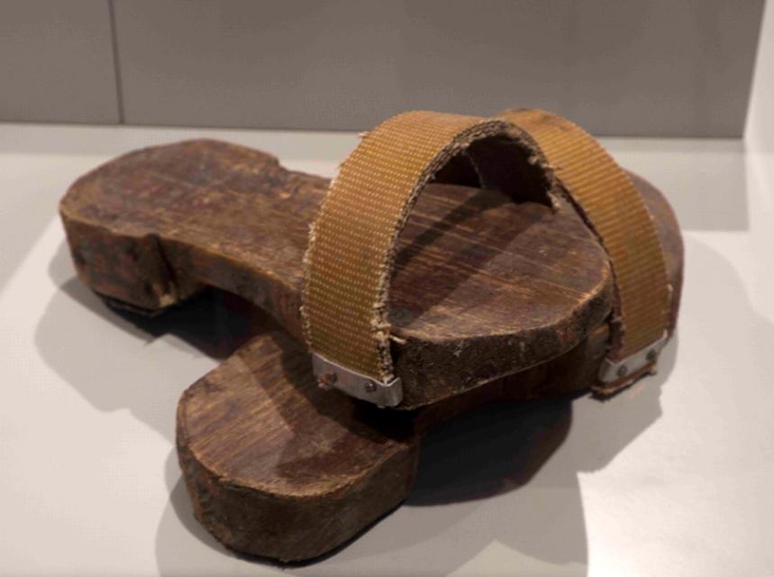 Tamancas usadas pelos trabalhadores