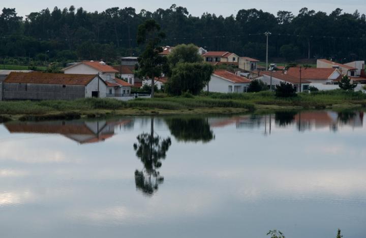 Vista do Hotel Montebelo Vista Alegre para a Ria