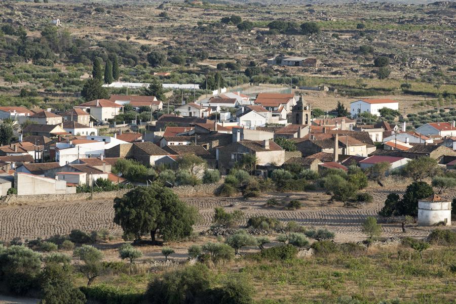 Vista de Algodres