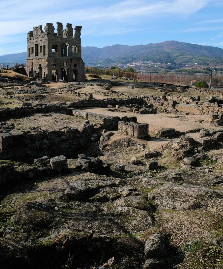 Escavações arqueológicas mostraram construções romanas