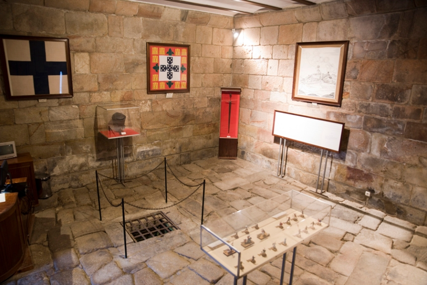 Interior da castelo