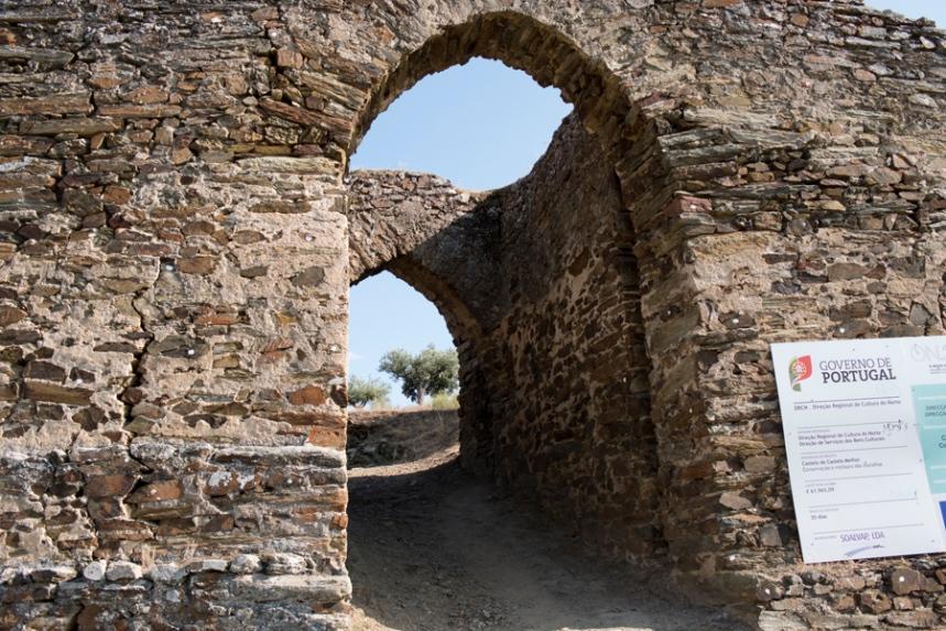 Entrada da fortificação