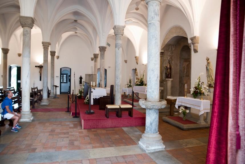 Interior da igreja de Nossa Senhora da Anunciação