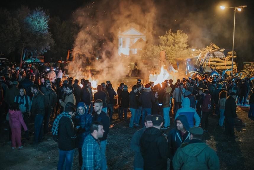 A festa na noite de 7 para 8 de Dezembro na Srª do Incenso ©CM Penamacor