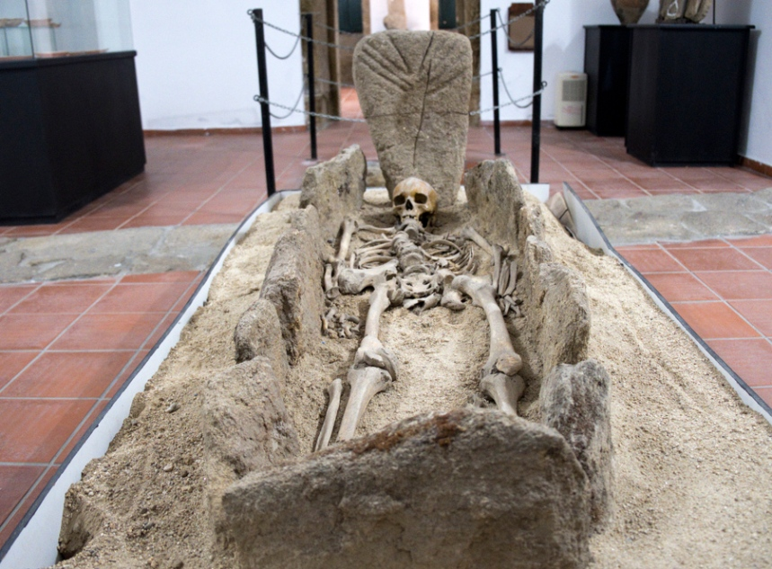 Acervo arqueológico do Museu