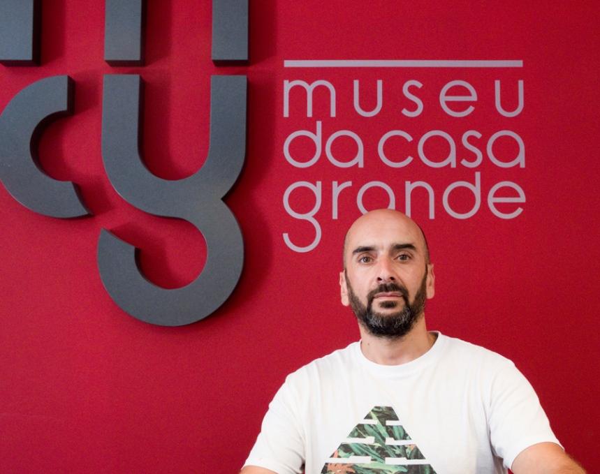 Paulo Moutinho trabalha no Museu da Casa Grande