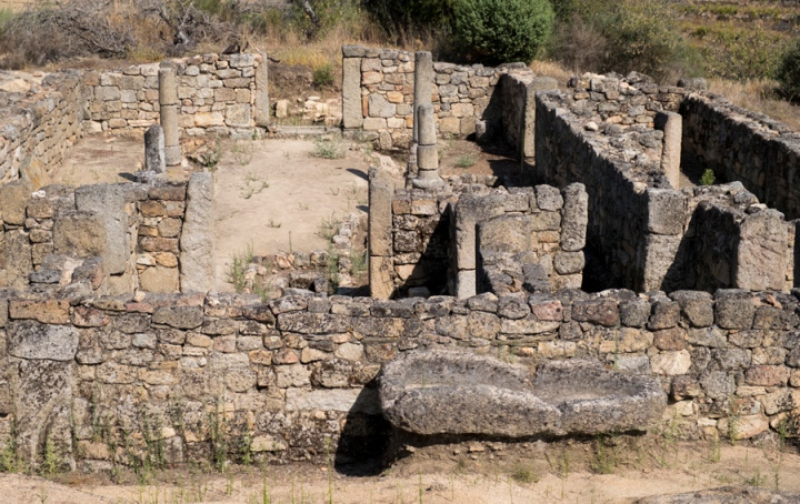 Parte das ruínas do Prazo