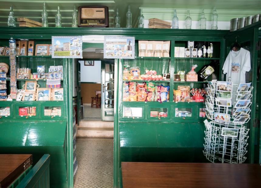 Interior da mercearia