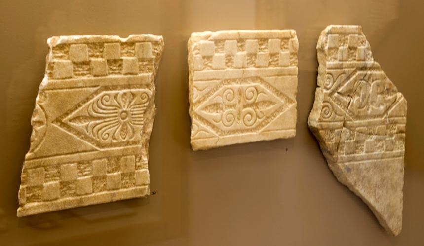 Algumas peças evidenciam que se tratava de uma casa de alguém com posses