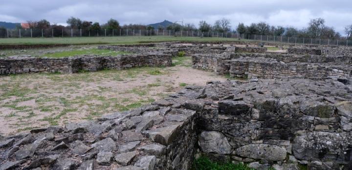Vista geral das ruínas