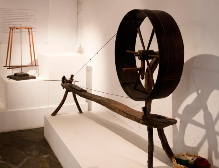 Há também uma componentes museológica sobre o ciclo da lã