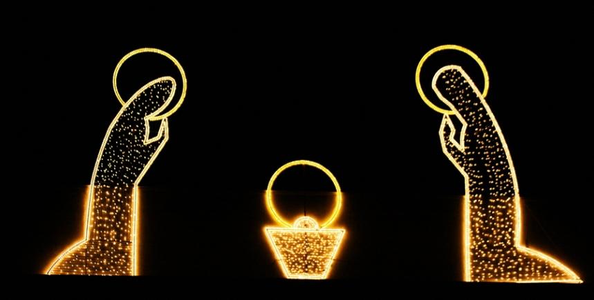 Iluminação de Natal. ©Iluminações Diogo & Reis
