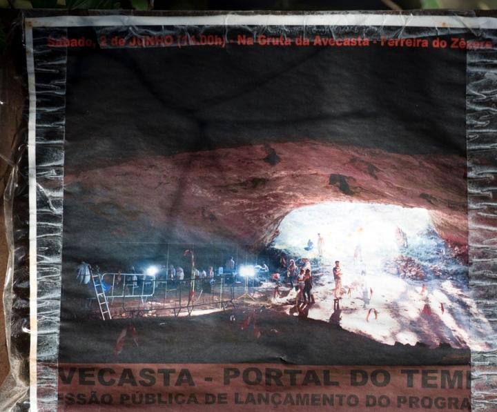 A gruta está a ser alvo de um ambicioso projeto arqueológico