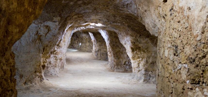 Interior da gruta