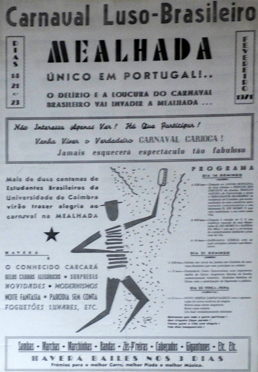 Cartaz do carnaval de 1971