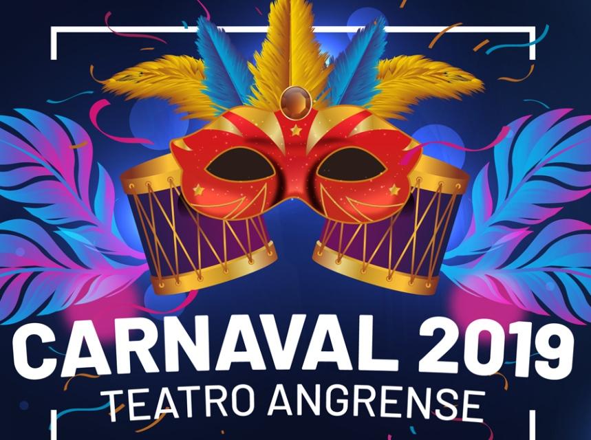 Cartaz do carnaval em Angra do Heroísmo