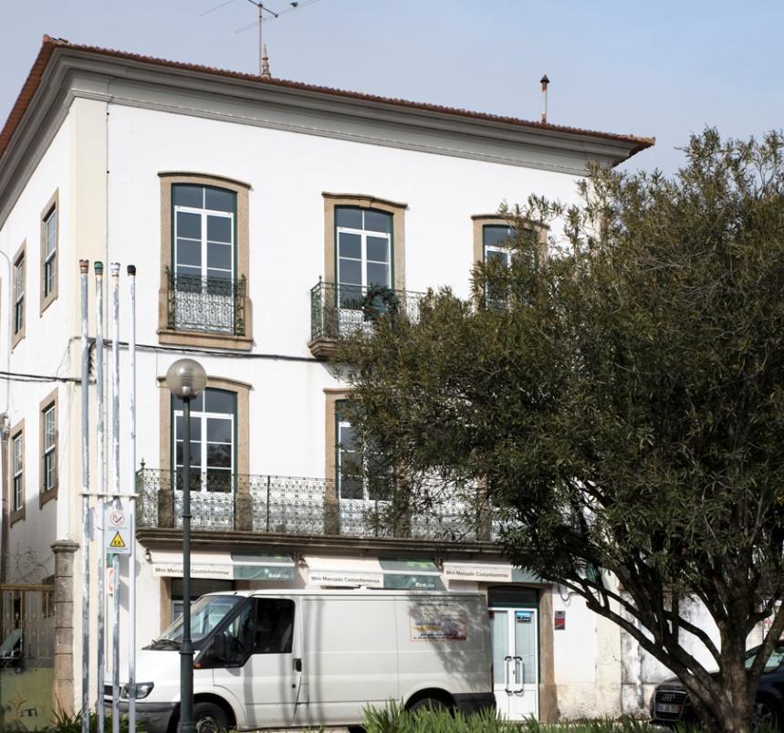 Casa de Bissaya Barreto em Castanheira de Pêra