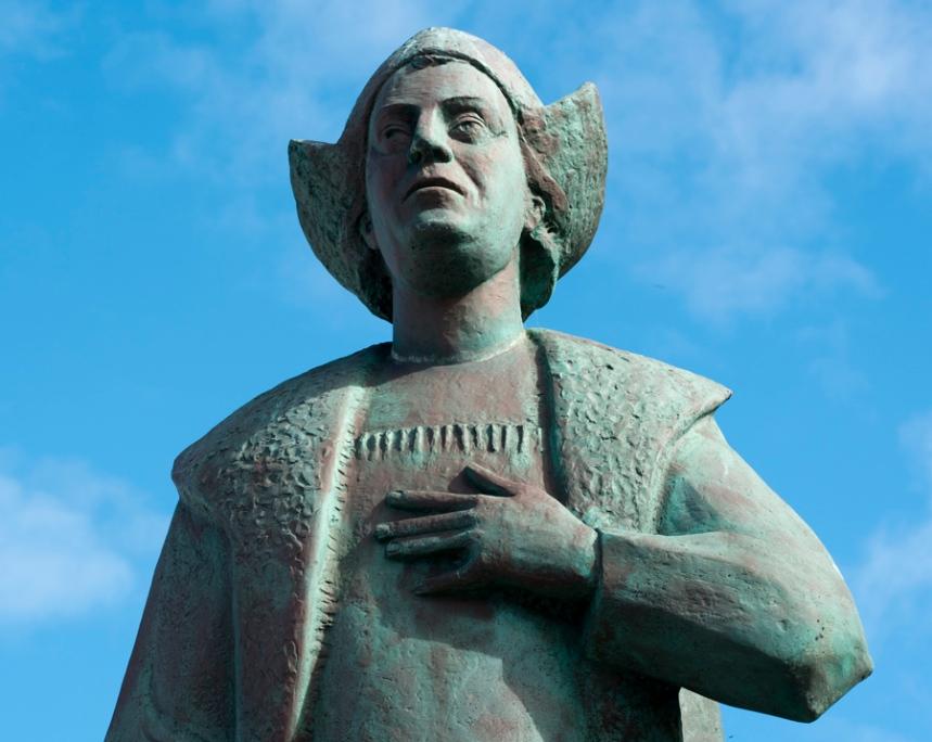 Estátua de Cristóvao Colombo