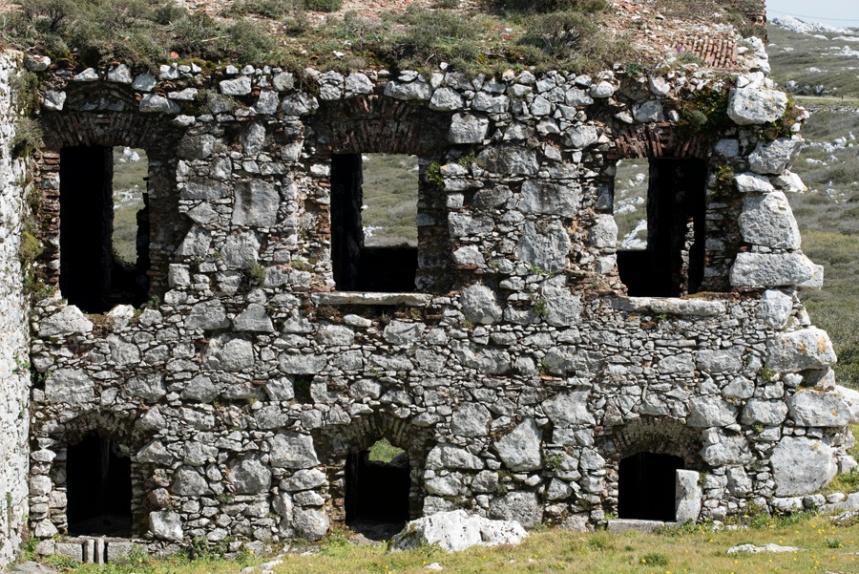 Ruínas do convento dominicano
