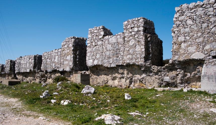 Ruínas do que seria o Convento da Reforma