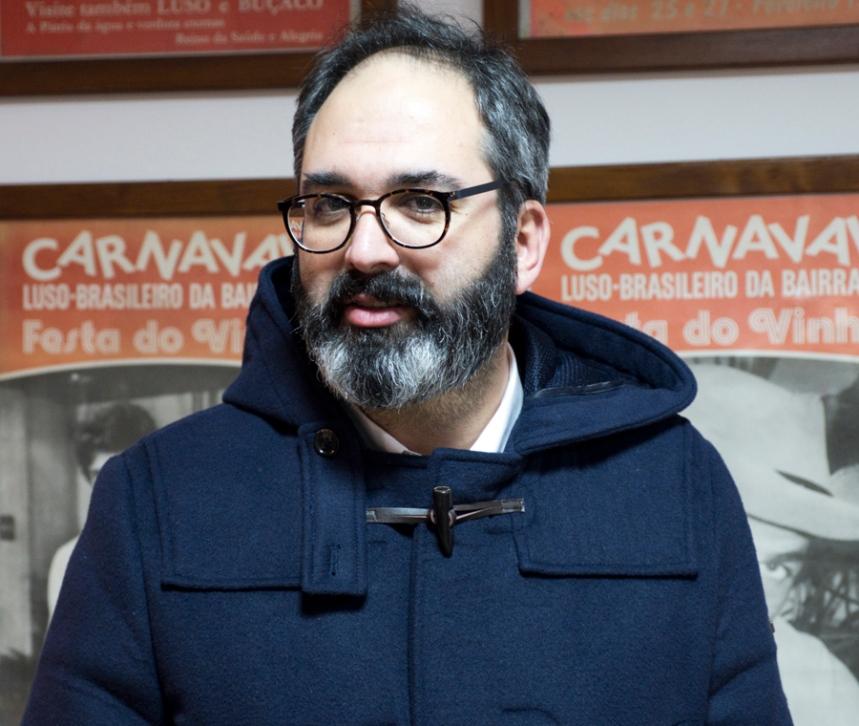 Nuno Canilho, vereador de Cultura da Câmara da Mealhada